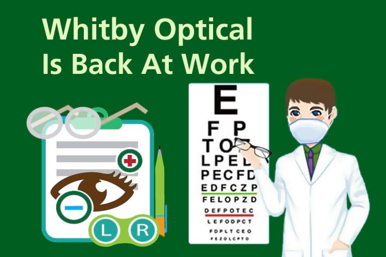 The safety of our valued clientele is Whitby Optical's top piority